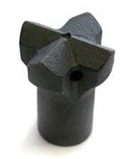 hardened steel cross bit