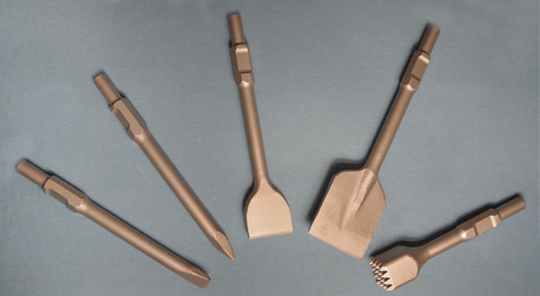 Rebit Carbide Tipped Hand Chisels, Rock Hammers, Finishing